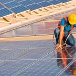 Instalação de energia solar