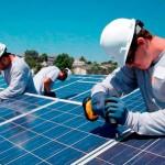 Instalação de sistema fotovoltaico