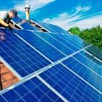 Instalação de sistema solar fotovoltaico