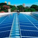 Sistema de geração de energia elétrica solar
